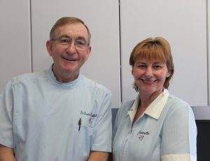 Dr David Rosenthall and Nurse Jeanette Kenny